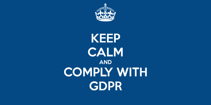 keep calm gdpr Are you incorporating GDPR into your operational due diligence reviews?