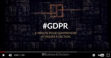 GDPR : 1 minute pour comprendre et passer à l'action