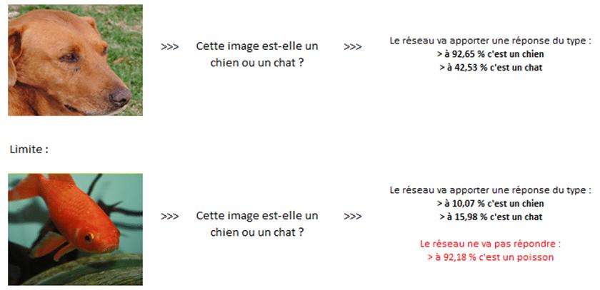 Réseaux de neurones - Illustration de reconnaissance d'images